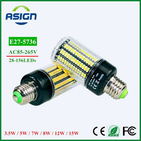aliexpress buy led bulb 5736 smd more bright 5730