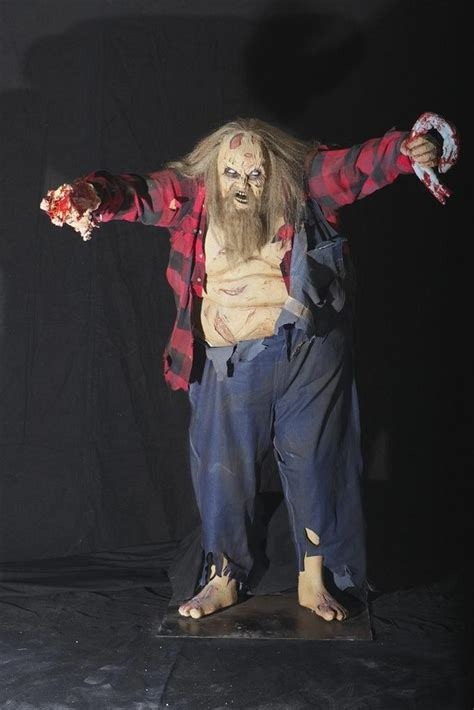 bubba halloween animatronic prop  horror dome