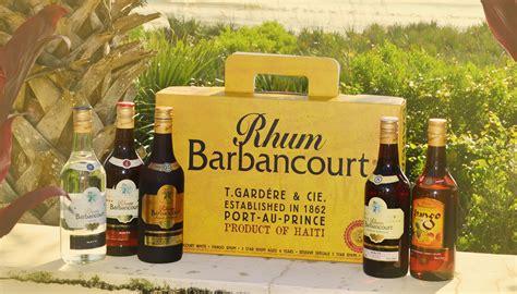 rhum cuisine haiti 39 s rhum barbancourt on board at the food 39 s