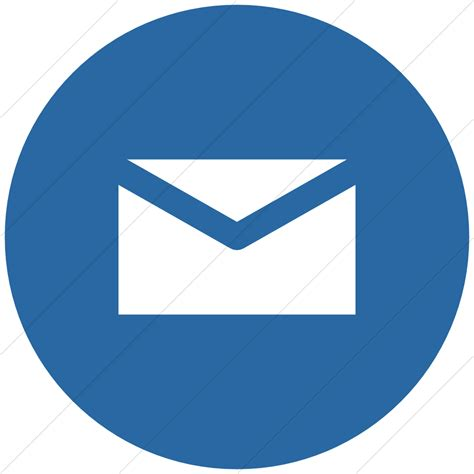 the gallery for gt circle email icon