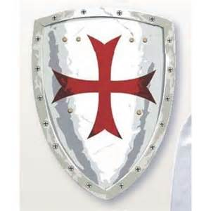 Knights Templar Shield Tattoo