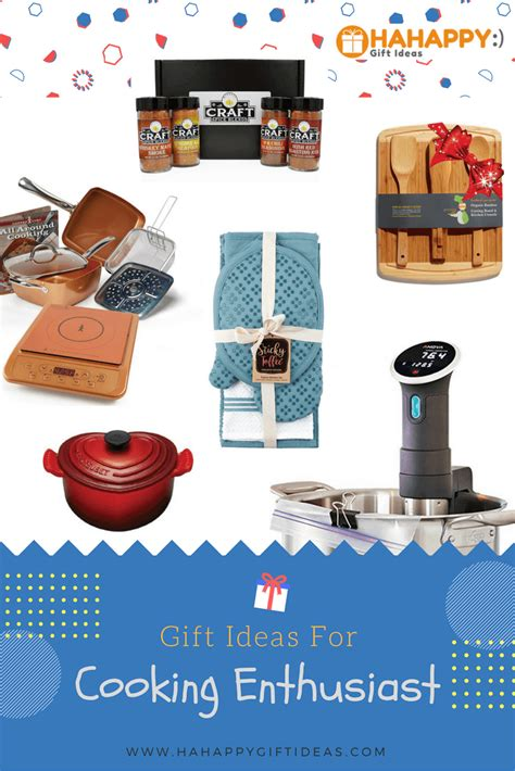 kitchen gift ideas for gift ideas for the cooking enthusiast hahappy gift ideas