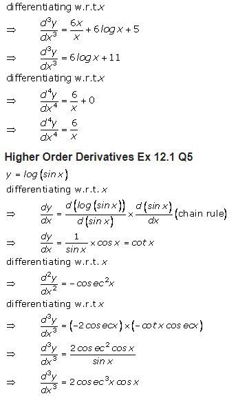 sharma class  solutions maths chapter  higher order