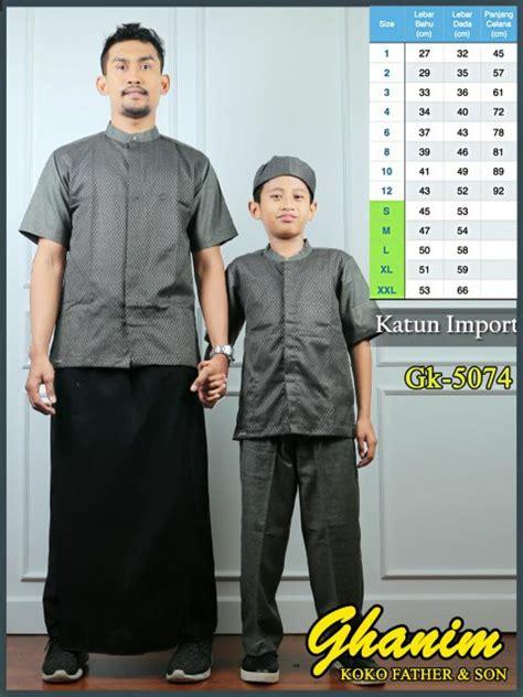 Baju Muslim Koko Pria Ayah Anak jual beli baju koko anak koko ayah anak koko