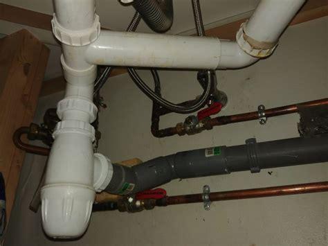 Installer Une évacuation Lave-linge Sous Un