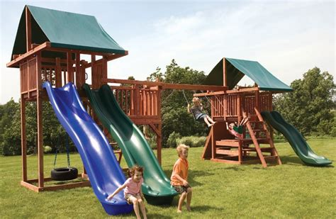 Swing And Slide Swing by Quality Swing And Slide Sets For Midway