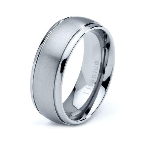 titanium wedding band titanium rings titanium wedding band titanium rings mens wedding