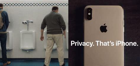 apple ad with urinals philip elmer dewitt