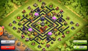 Clash of Clans Town Hall 9 Base Design