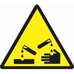 Corrosive Symbol Sign Danger Signs Corrosives Clip