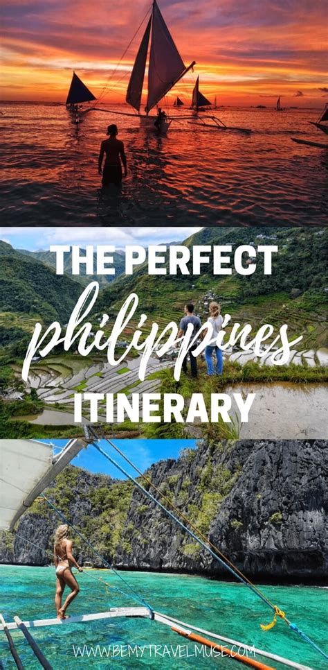 Where To Go In The Philippines The Perfect Itinerary