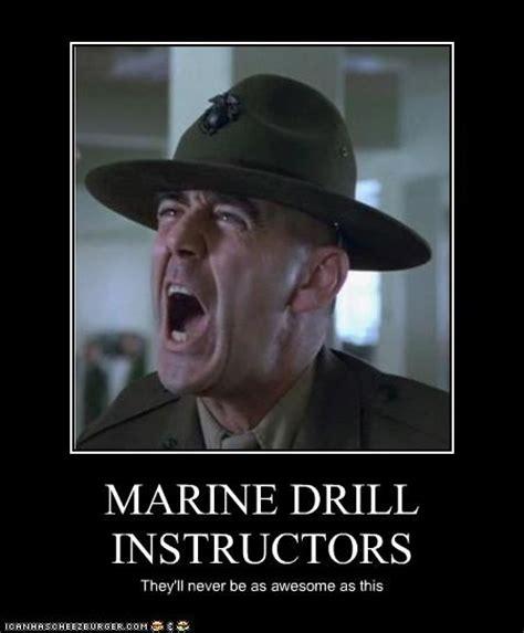 Drill Sergeant Meme - usmc drill instructor quotes quotesgram