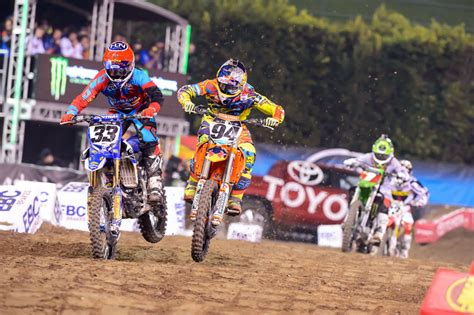 2014 Ama Supercross Anaheim 1 Results Motorcycle Com News