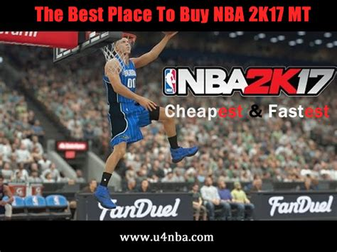 U4nba Supply Cheap Nba 2k17 Mt With Competitive Price