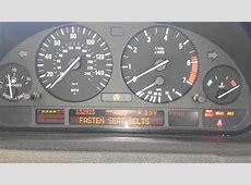 BMW X5 44 E53 E39 E38 trans fail safe and warning lights