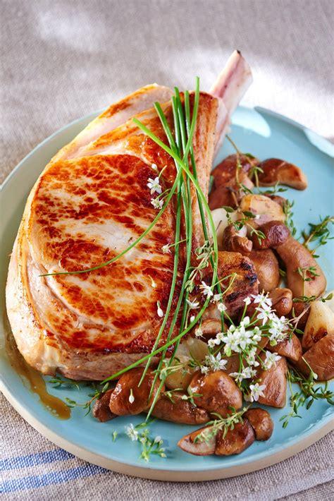 recette cuisine gastro recette côtes de veau au four cuisine madame figaro