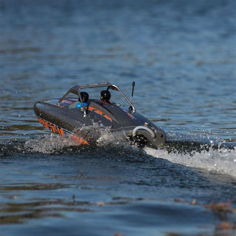 Rc Boat Jet Boat by Proboat River Jet Boat 23 Inches R C Rtr Self Righting