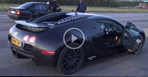 Bugatti Veyron Vs Bmw M5 Dragrace by 1001 Hp Bugatti Veyron Dutchbugs Vs Bmw M5 E34 Turbo 900