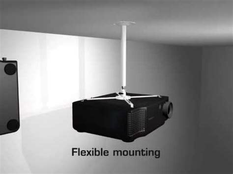 m universal projector ceiling wallmount youtube