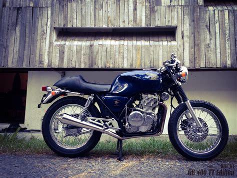 Vintage Bike Honda Gb400 Cafe