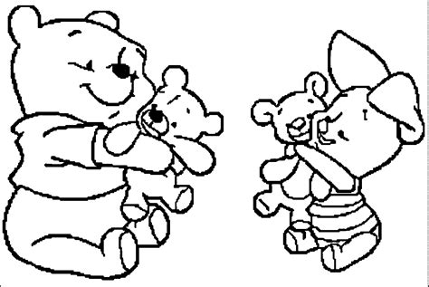 Kleurplaat Winnie The Pooh Baby by 32 The Coloring Pages Oscar The Grouch Coloring Pages Az