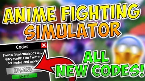 anime fighting simulator  kagune update codes