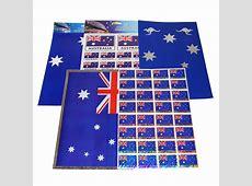 Aussie Stickers Bulk Lot 5 Packs A4 Sheets, Australia Day