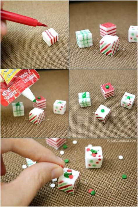 diy christmas cube decorations 17 best images about ideas on bin bag pudding and sugar cubes