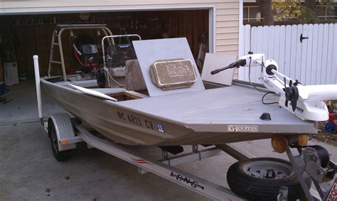 All Welded Aluminum Boats by 2002 All Welded Alumacraft Cc 16 Aluminum Flats Boat