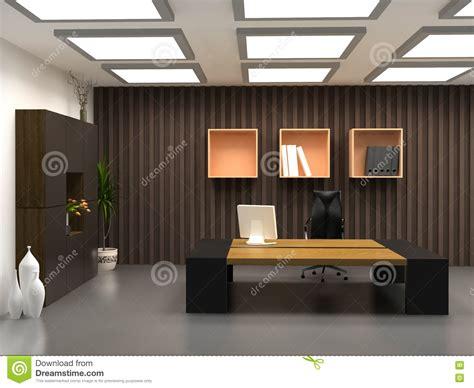 bureaux moderne le bureau moderne photographie stock libre de droits