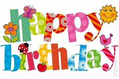 Birthday Happy Clip Clipart Easy Birthdays Party
