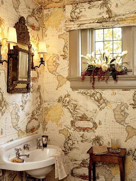 small bathroom wallpaper ideas  grasscloth wallpaper