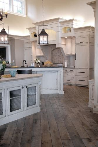 Distressed And Stained Gray, Vintage Hardwood Floors