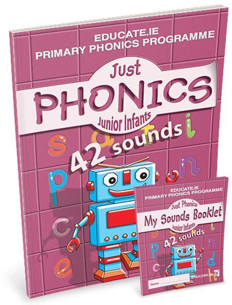 just phonics junior infants 2 42 sounds pack english junior infants primary books