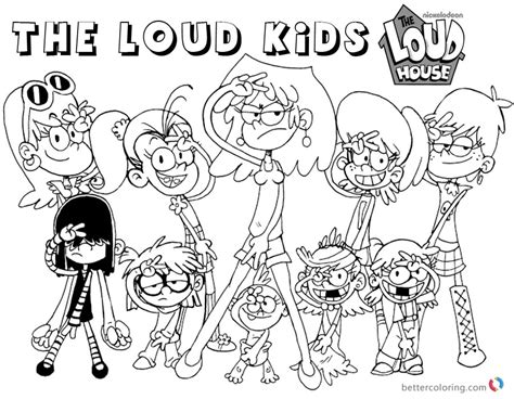 Lynn Loud House Coloring Pages Coloring Pages