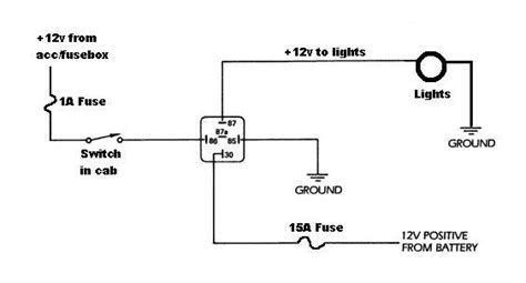 Wiring Diagram For Relay Light Bar by Wiring Led Light Bar