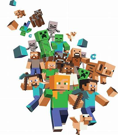 Minecraft Characters Transparent