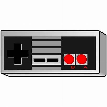 Controller Svg Clipart Controllers Clip Retro Nintendo