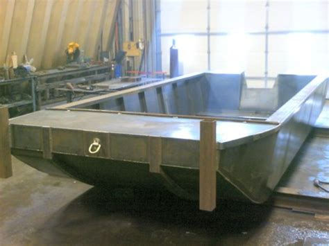 2015 Custom Built 2015 20 X 8 Flat Bottom Work Boat Boat