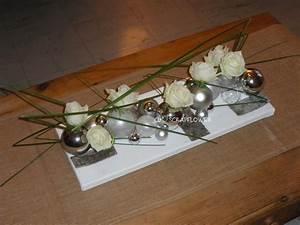 Art Floral Centre De Table Noel : centre de table design decoration noel pinterest table design centres de table et centre ~ Melissatoandfro.com Idées de Décoration