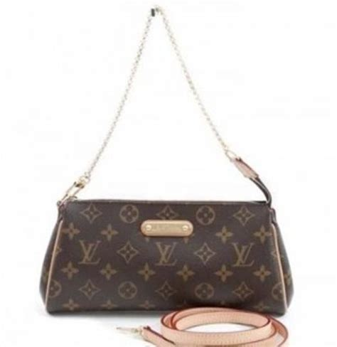 louis vuitton monogram canvas leather eva cross body bag