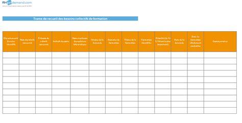 modele plan de formation excel recueil des besoins formation rhondemand