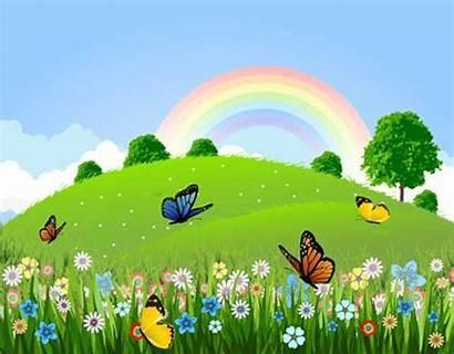 Clipart Landscape Clip Landscapes Clipground Butterfly