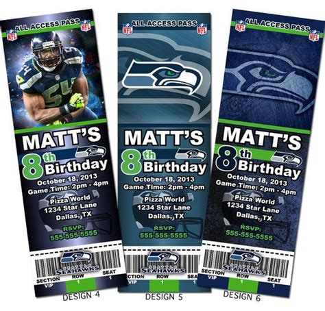 seattle seahawks birthday party images