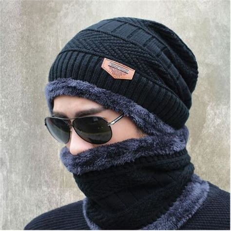 winter woolen neck protection cap  hijab  women
