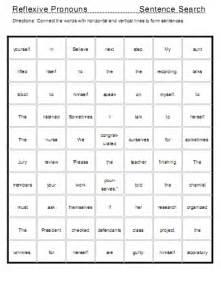 Pronouns List Printable