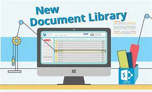 sharepoint online new library features centillion With document control library