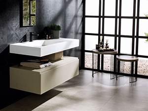 lavabos des lavabos design de salle de bain porcelanosa With meuble de salle de bain porcelanosa