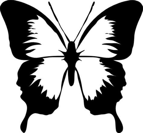 black  white butterfly clip art  clkercom vector