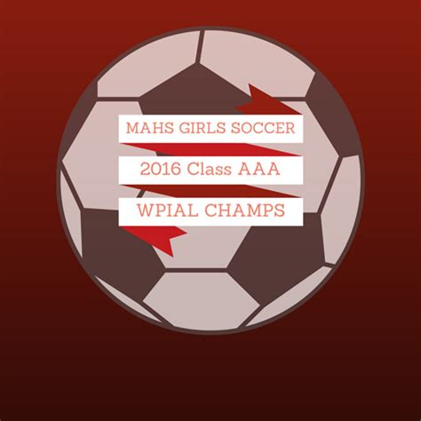mahs girls soccer named wpial class aaa champions moon area